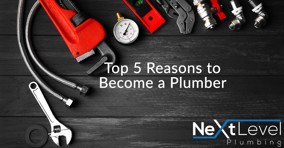 Top 5 Reasons to Become a Plumber
